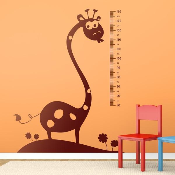Stickers pour enfants: Giraffe 2 Meter