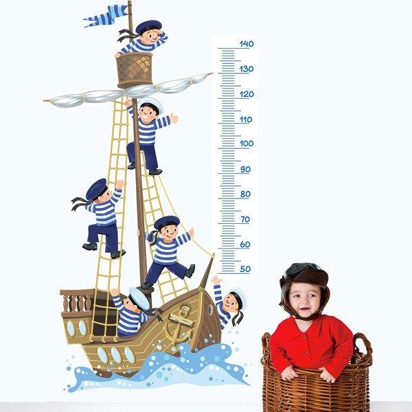 Stickers pour enfants: Bateau et apprentis