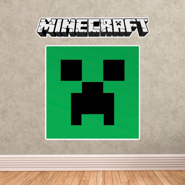 Stickers muraux: Minecraft logo