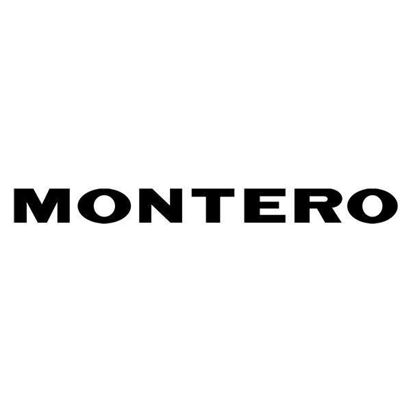 Autocollants: Montero