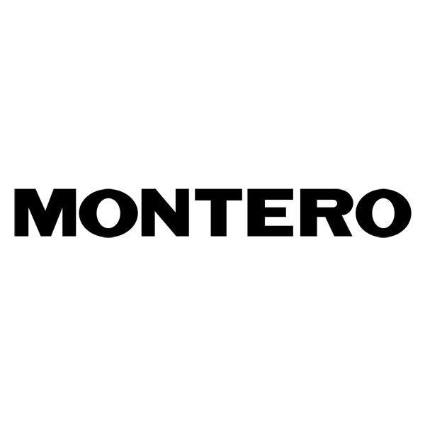 Autocollants: Montero 2