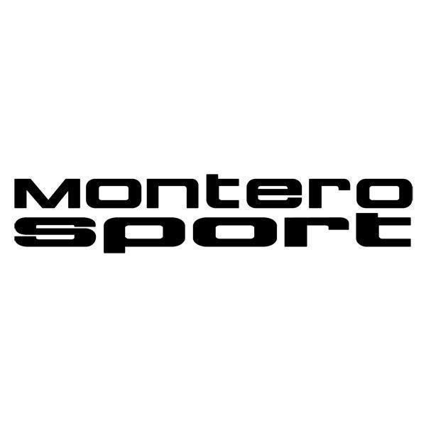 Autocollants: Montero Sport
