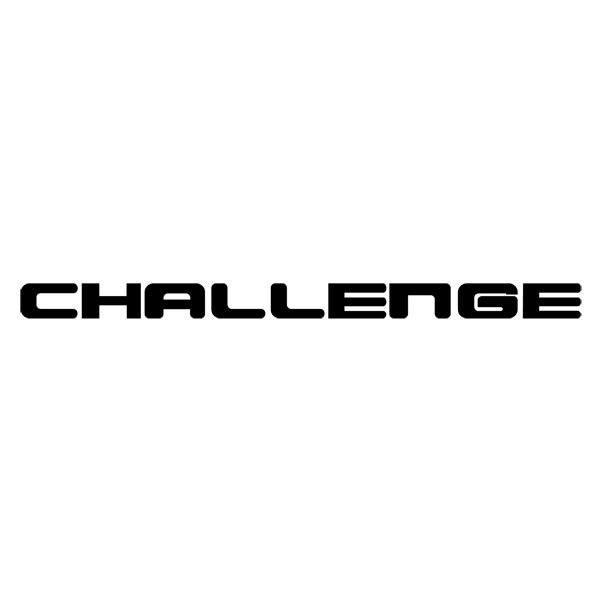 Autocollants: Challenge