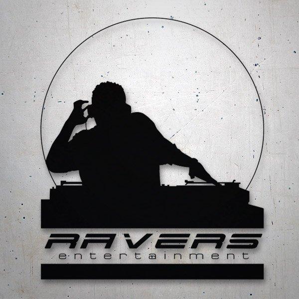 Autocollants: Ravers