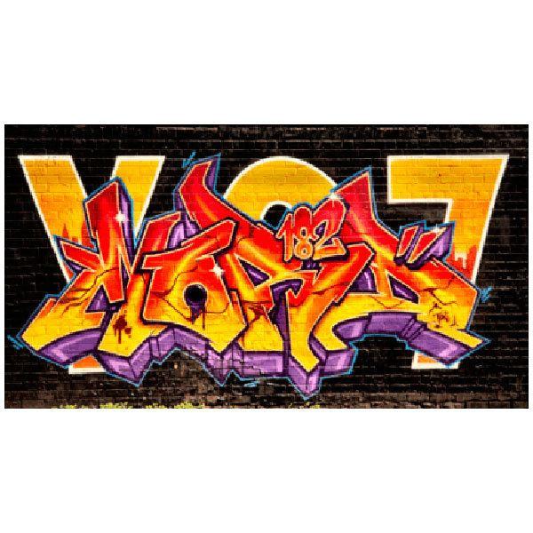 Stickers muraux: Grafitti
