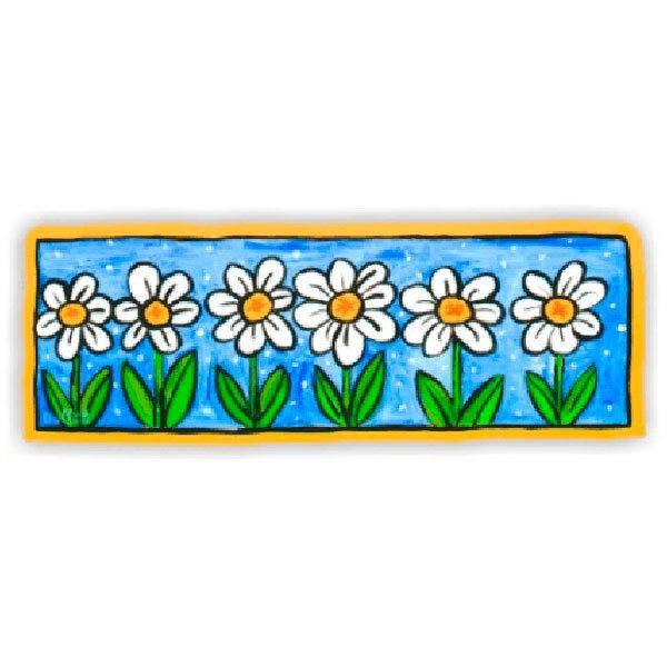 Stickers muraux: Fleurs