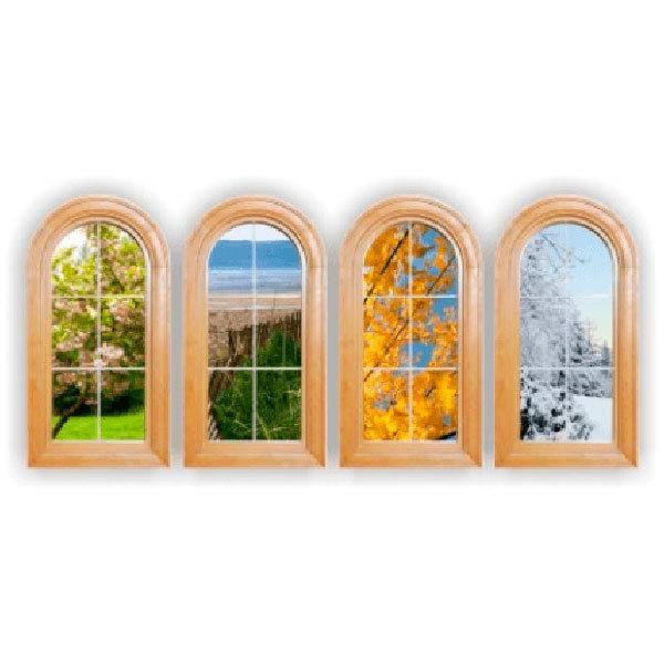 Stickers muraux: Fenêtres