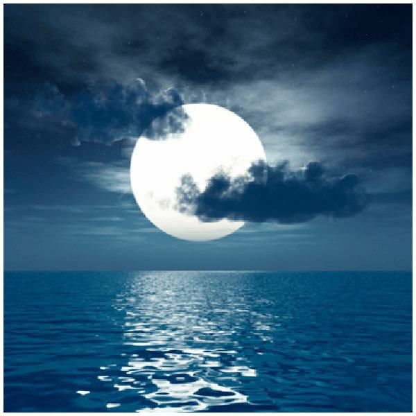 Stickers muraux: Lune