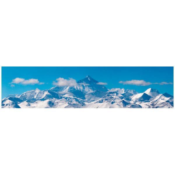 Stickers muraux: Neige Montagnes