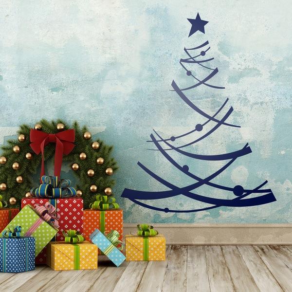 Stickers muraux: arbre de Noël 2