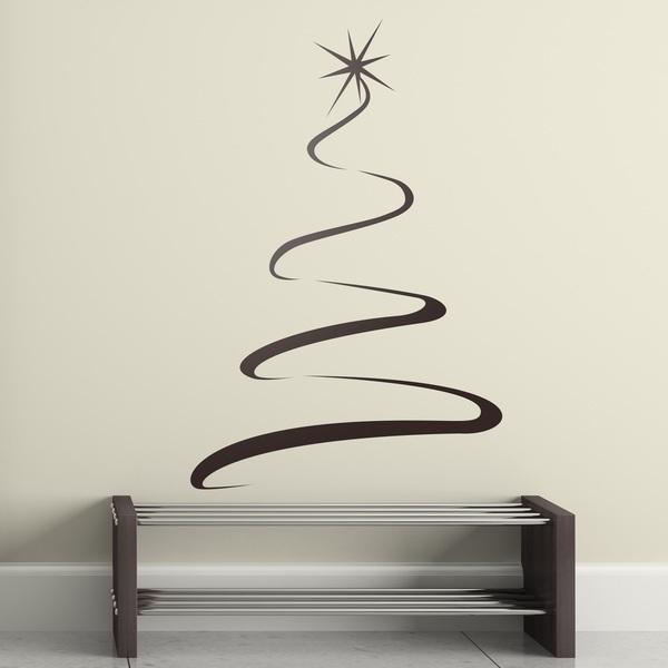 Stickers muraux: arbre de lumière