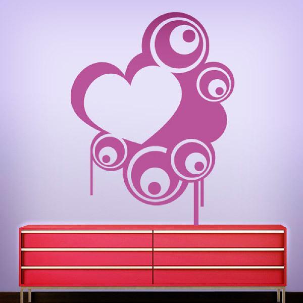 Stickers muraux: Coeur