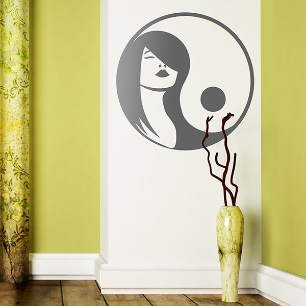 Stickers muraux: Ying Yang