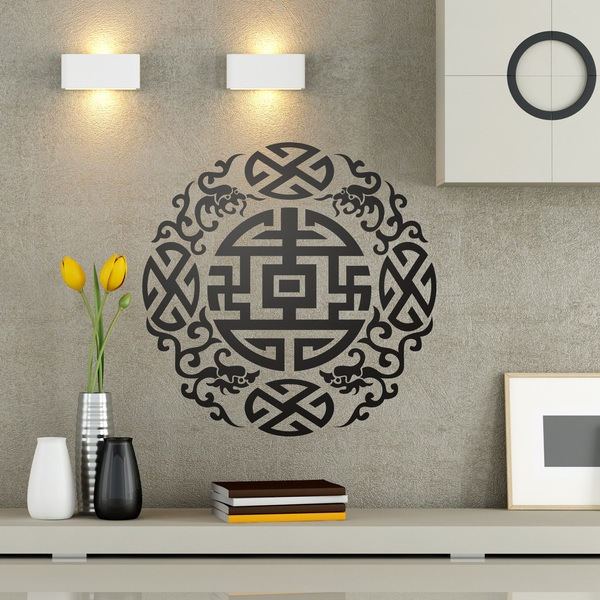 Stickers muraux: Zen