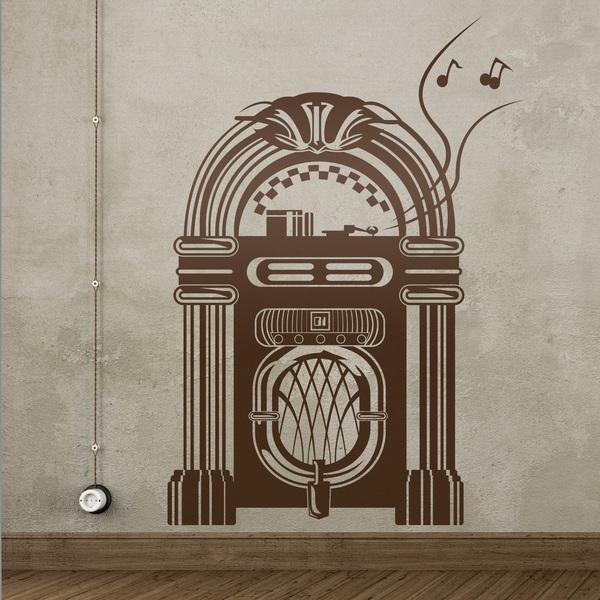 Stickers muraux: Jukebox