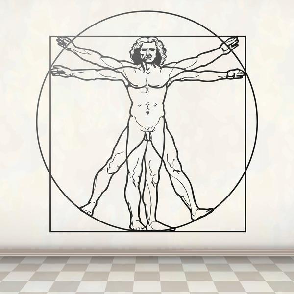 Stickers muraux: Da Vinci