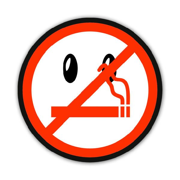 Autocollants: No smoking 5