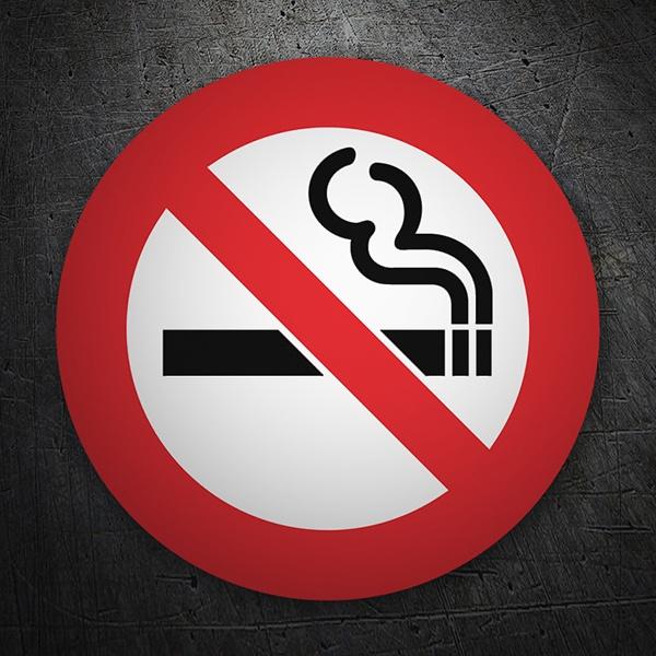 Autocollants: No smoking 6
