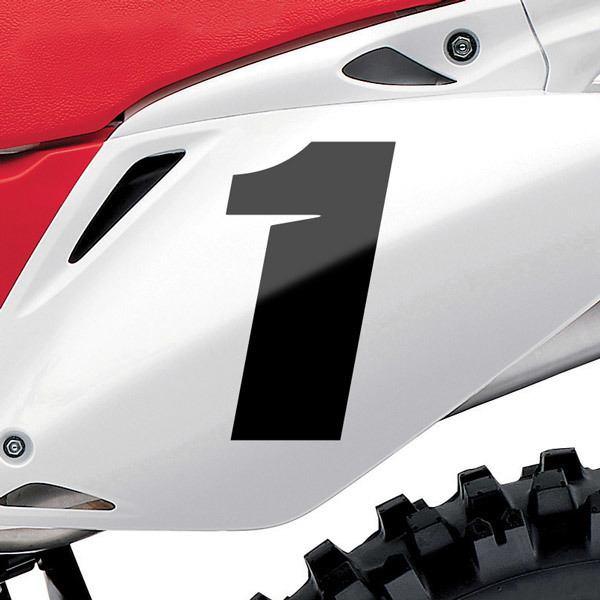 Autocollants: Nombre 1 Speed