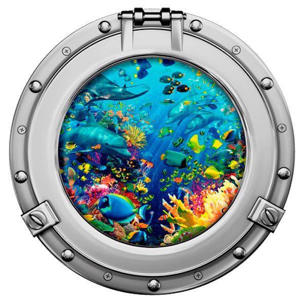 Stickers muraux: Fond marin