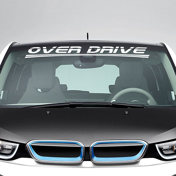Autocollants: Over Drive