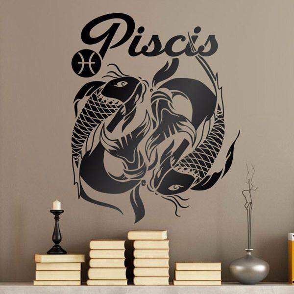 Stickers muraux: zodiaco 40 (Piscis)