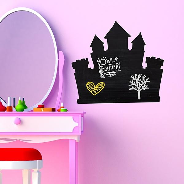 Stickers pour enfants: Chateau de princesse
