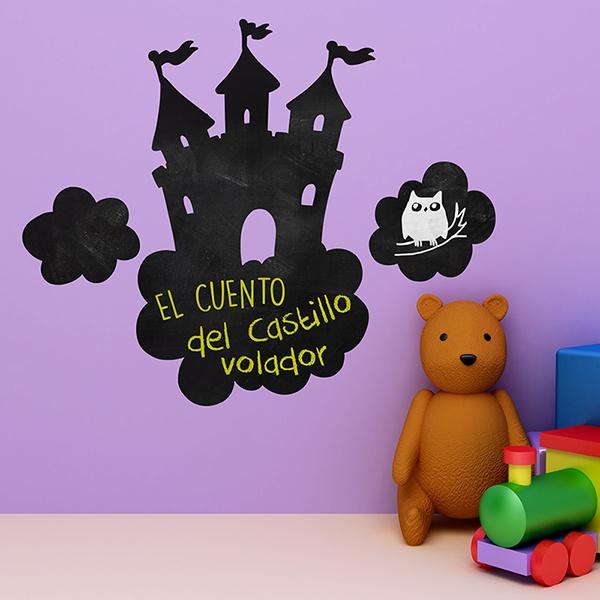 Stickers pour enfants: Château dans les nuages