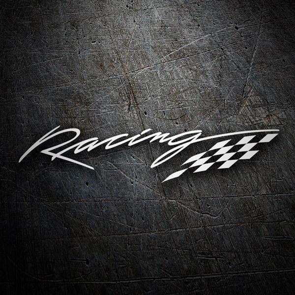 Autocollants: Racing
