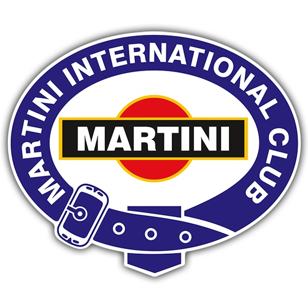 Autocollants: Martini international club