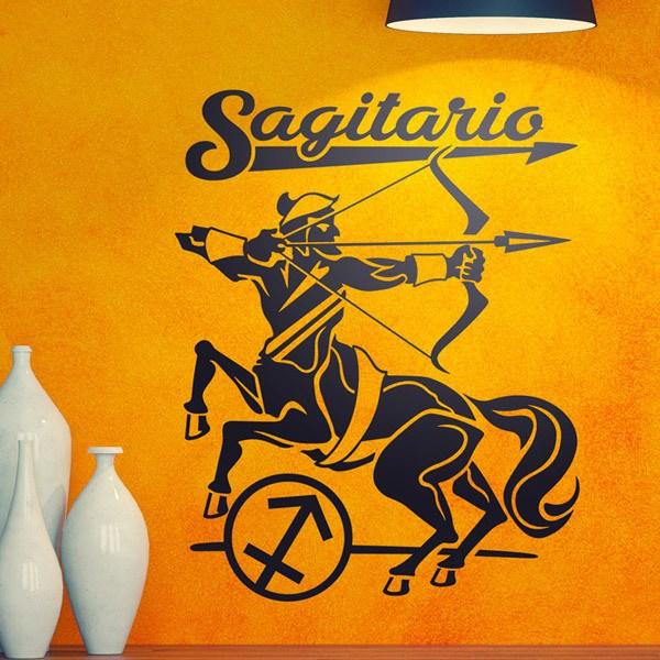 Stickers muraux: zodiaco 31 (Sagitario)