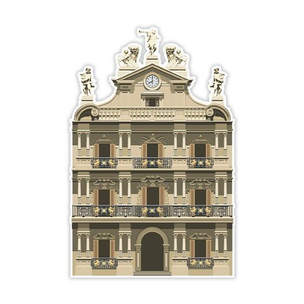 Stickers muraux: Mairie de Pampelune
