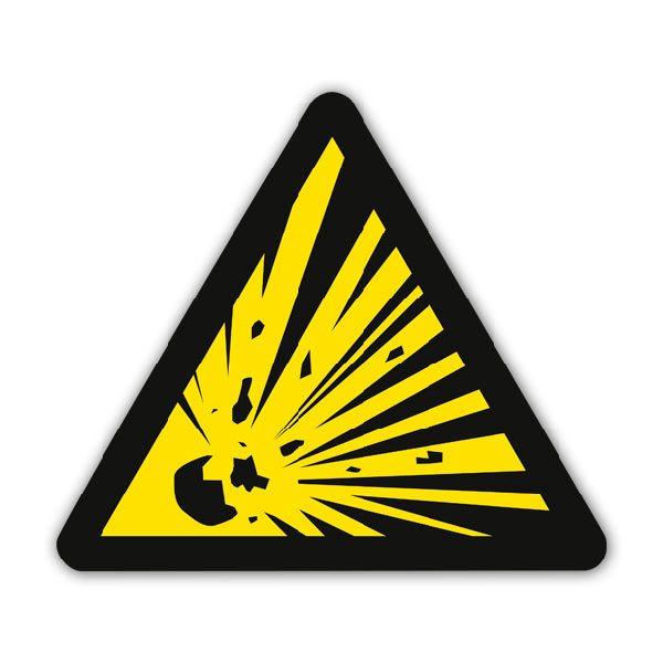 Autocollants: Signal de danger
