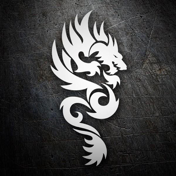 Autocollants: Dragones