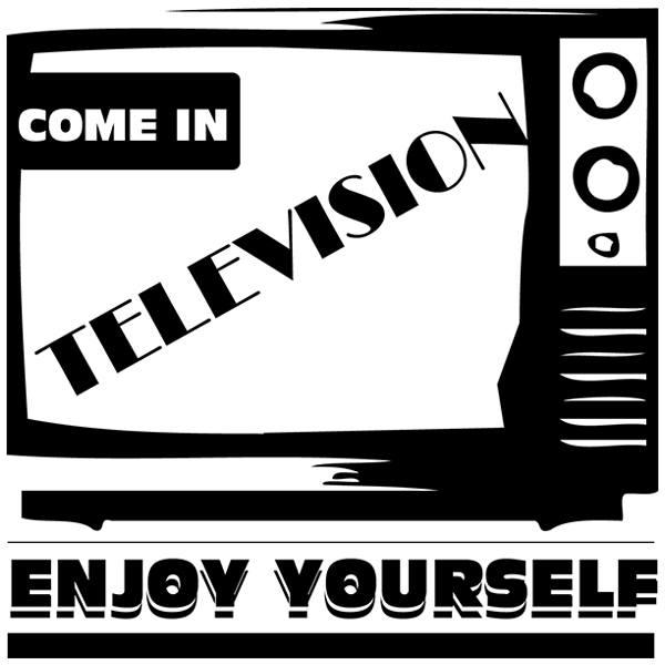 Stickers muraux: TV