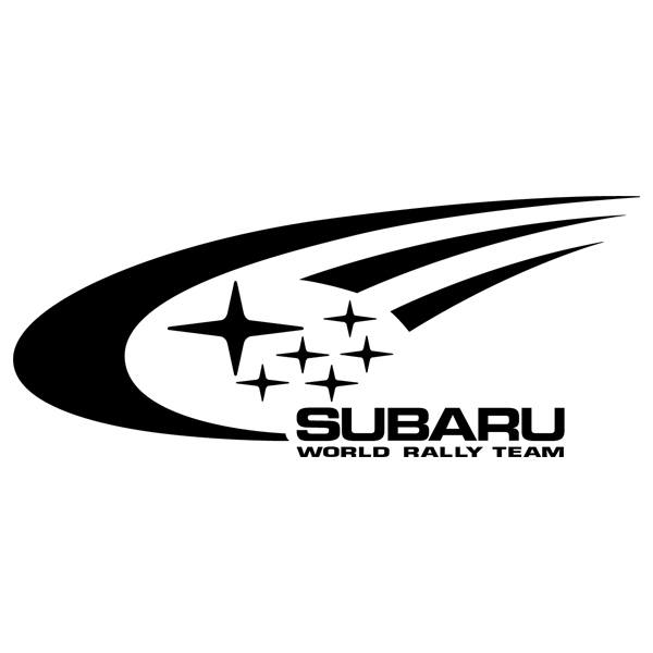 Autocollants: Subaru Rally