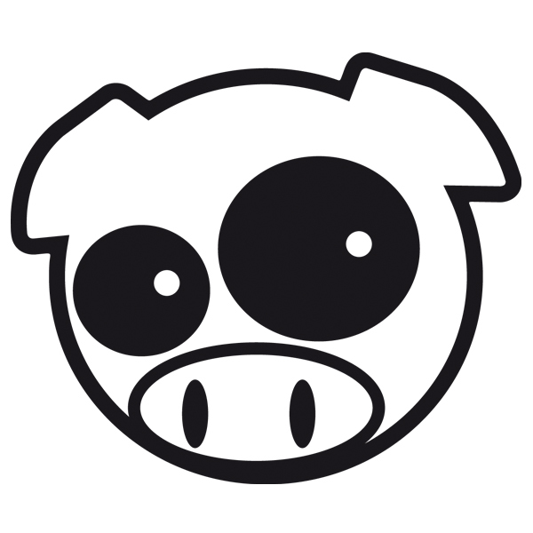 Autocollants: Subaru Pig
