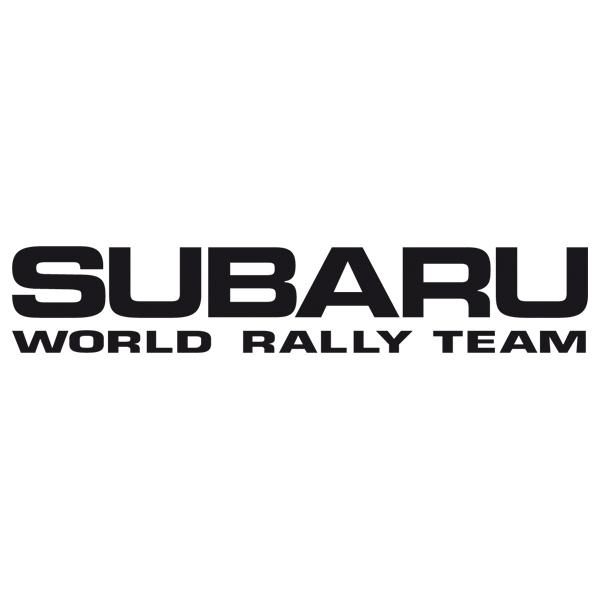 Autocollants: Subaru World Rally Team