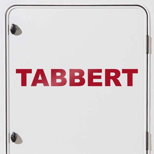 Autocollants: Tabbert 2