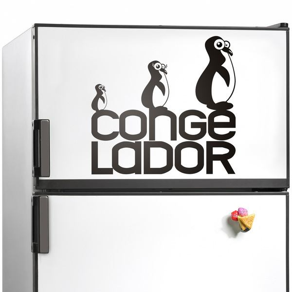 Stickers muraux: Congelador01
