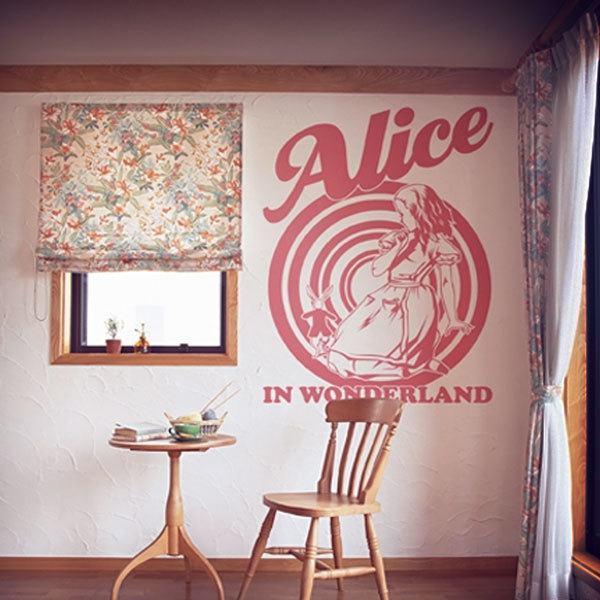 Stickers muraux: Alice au pays des merveilles