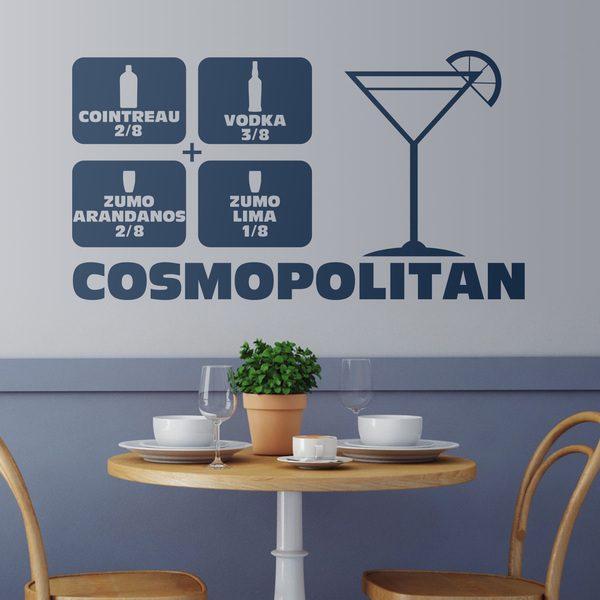 Stickers muraux: Cocktail Cosmopolitan