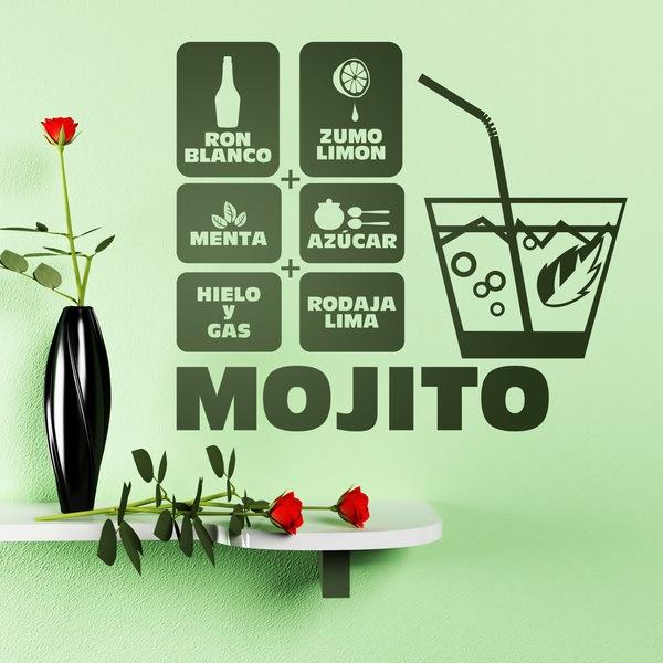 Stickers muraux: Cocktail Mojito