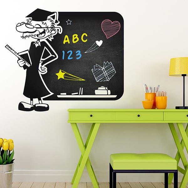 Stickers pour enfants: Professeur