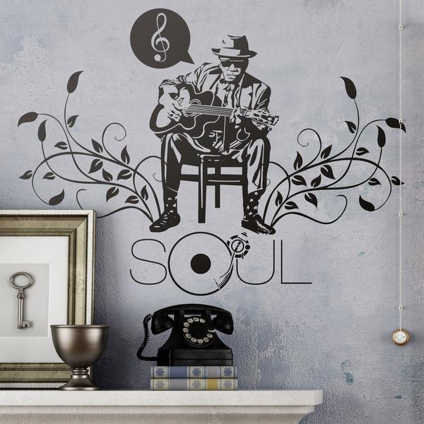 Stickers muraux: Soul