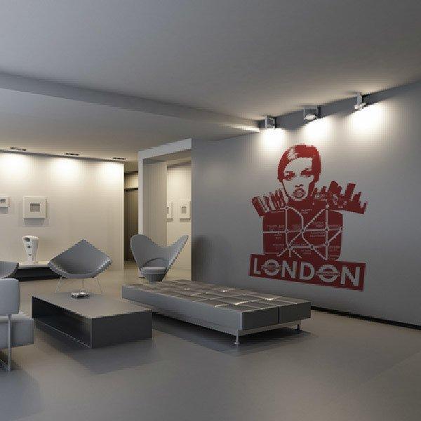 Stickers muraux: London