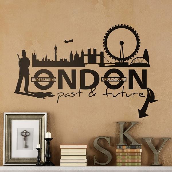 Stickers muraux: London City