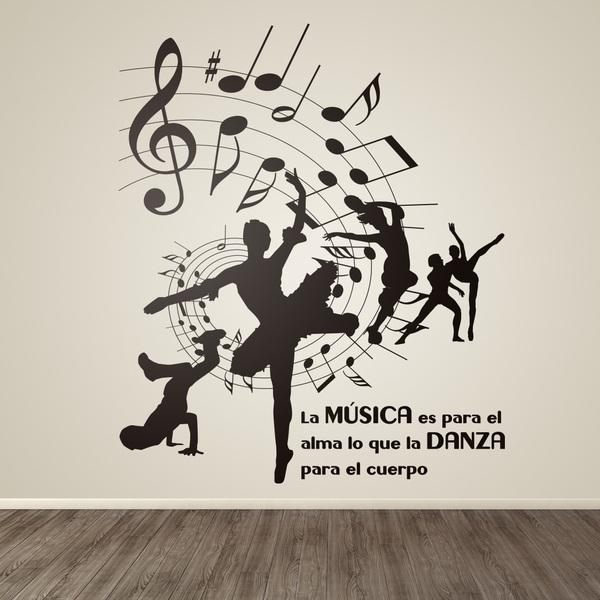 Stickers muraux: Dance