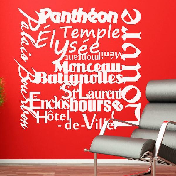 Stickers muraux: Paris Mon Amour
