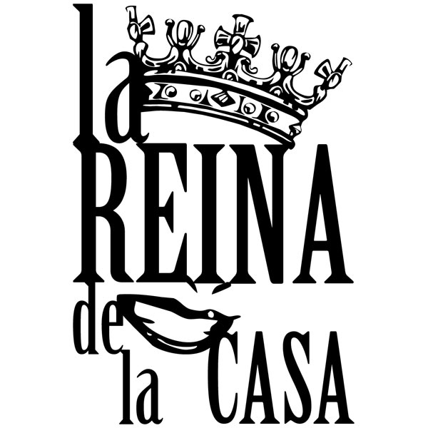 Stickers muraux: Reina de la Casa